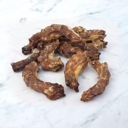 Colli di pollo essiccati